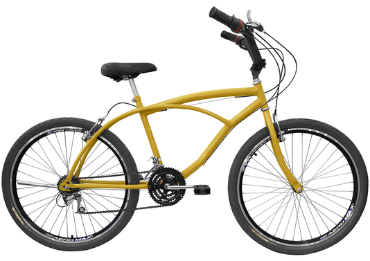 Bicicleta Amazonas Praiana Masculina 18v. Aro 26 Aero - 1370