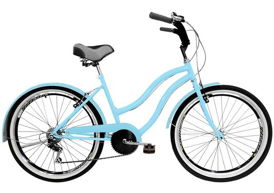 Bicicleta Amazonas Praiana Retro Feminina 6v. Aro 26 Aero - 1367