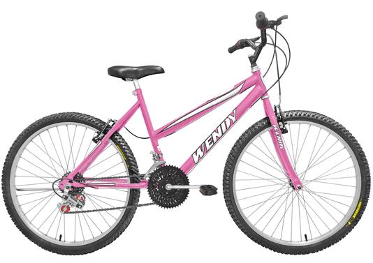 Bicicleta Amazonas Wendy MTB Feminina 18v. Aro 26 - 1371