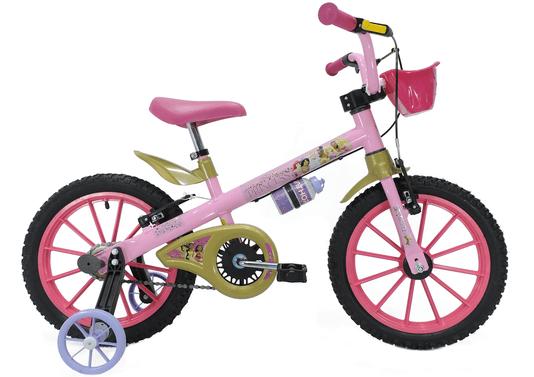 Bicicleta Nathor Princesas Disney Aro 16