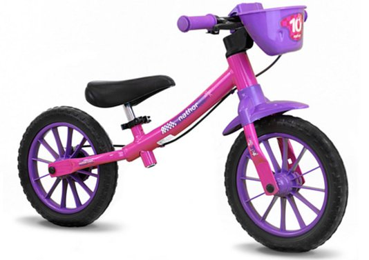 Bicicleta Nathor Balance Feminina Aro 12