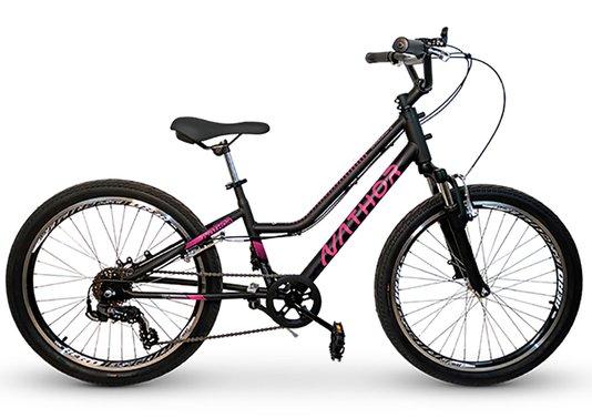 Bicicleta Nathor Bella 6v. Aro 24