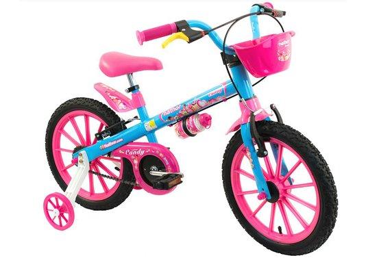 Bicicleta Nathor Candy Aro 16