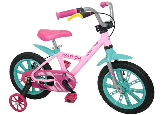 Bicicleta Nathor FirstPro Feminina Aro 14