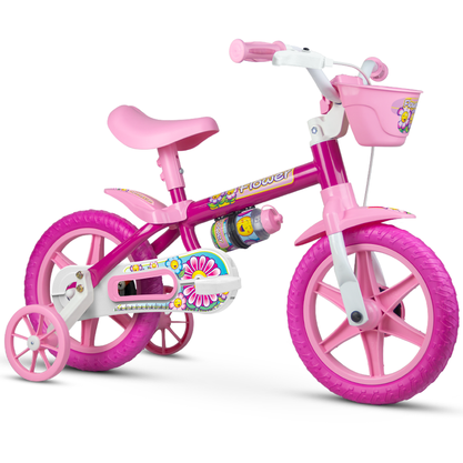 Bicicleta Nathor Flower Aro 12
