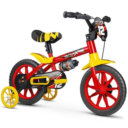 Bicicleta Nathor Motor X Aro 12
