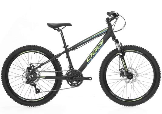 Bicicleta Oggi Hacker 21v. Aro 24 - 2021