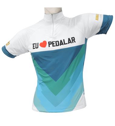 Camisa de Ciclismo Eu Amo Pedalar