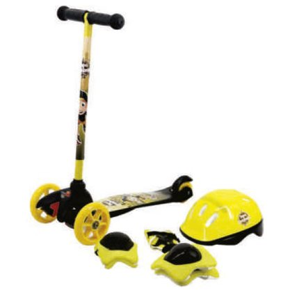 Patinete Unitoys Scooter + Kit Proteção